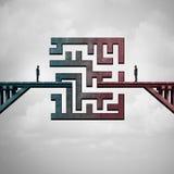 Geschäftstreffen-Herausforderung lizenzfreie abbildung