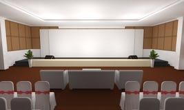 Geschäftstreffen Seminarraum Konferenz und Sitze Lizenzfreies Stockfoto