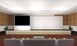 Geschäftstreffen Seminarraum Konferenz und Sitze Stockfoto