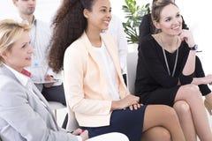 Geschäftstreffen und Brainstorming Lizenzfreie Stockfotos