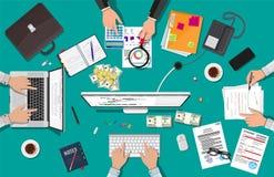 Geschäftstreffen und Teamwork Stockfotografie