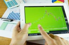 Geschäftsunterlagen Stockfotos
