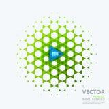 Geschäftsvektorgestaltungselemente für grafischen Plan modern Stockfotografie