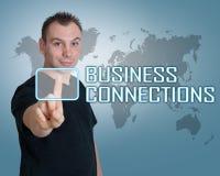 Geschäftsverbindungen Lizenzfreie Stockfotografie