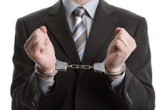 Geschäftsverbrechen lizenzfreies stockbild