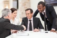 Geschäftsvereinbarung Stockfotografie
