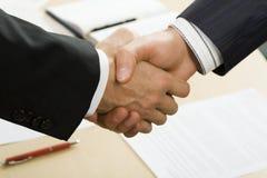 Geschäftsvereinbarung Lizenzfreie Stockfotos