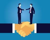 Geschäftsvereinbarungs-Vereinbarungs-Partnerschafts-Konzept Lizenzfreie Stockfotos