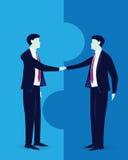 Geschäftsvereinbarungs-Vereinbarungs-Partnerschafts-Konzept Lizenzfreies Stockfoto