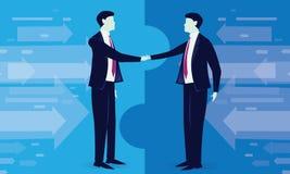 Geschäftsvereinbarungs-Vereinbarungs-Partnerschafts-Konzept Lizenzfreie Stockfotografie