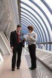 Geschäftsvermittlungen Lizenzfreies Stockfoto