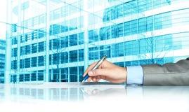 Geschäftsvertrag Stockfotos