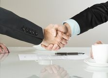 Geschäftsvertrag Lizenzfreie Stockfotos