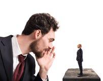 Geschäftsvorschlag für Arbeitsprobleme Stockfoto
