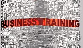 Geschäftswörter standen mit Wort Trainning in Verbindung Lizenzfreies Stockbild