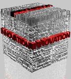 Geschäftswörter in Verbindung gestanden mit Innovation Stockfotografie