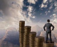 Geschäftswachstum lizenzfreie stockfotos