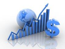Geschäftswachstumkonzept Stockfotografie