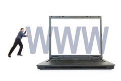Geschäftsweb site Stockfoto