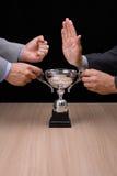 Geschäftswettbewerb Stockbild