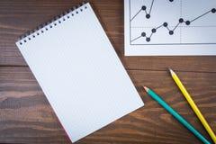 Geschäftszeichnungsgraphiken Stockbilder