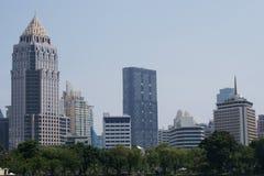 Geschäftszentrum in Bangkok Lizenzfreie Stockbilder