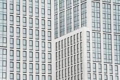 Geschäftszentrum in den neuen Vierteln der Stadt Stockfotografie