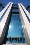 Geschäftszentrum-Gebäudehintergrund Stockfotografie