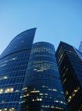 Geschäftszentrum in Moskau Stockfotos