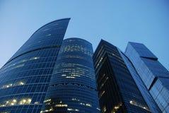 Geschäftszentrum in Moskau Stockfotografie