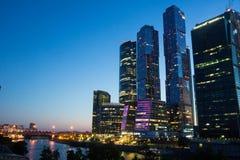Geschäftszentrum in Moskau Lizenzfreie Stockfotos