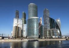 Geschäftszentrum Moskau-Stadt Lizenzfreies Stockbild