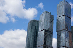 Geschäftszentrum - Moskau-Stadt Stockbilder