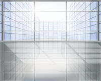 Geschäftszentrum. Vektorabbildung. Lizenzfreie Stockbilder