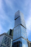 Geschäftszentrumgebäude in Moskau Lizenzfreies Stockfoto
