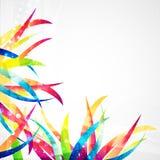 Geschäftszusammenfassungs-Wellen-Unternehmenshintergrund lizenzfreie abbildung
