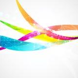 Geschäftszusammenfassungs-Wellen-Unternehmenshintergrund vektor abbildung