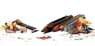 Geschärfte Bleistifte Stockfoto
