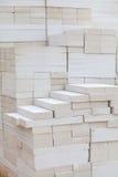 Geschäumter Betonblock Lizenzfreie Stockbilder