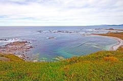 Geschützte Bucht auf Sunny Day Stockfotografie
