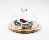 Geschützte Flotte Autos und Fahrzeuge Lizenzfreies Stockbild