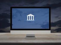 Gesch?ft, das on-line-Konzept ein Bankkonto hat lizenzfreies stockbild