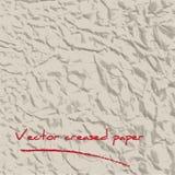 Geschaffener Papierhintergrund vektor abbildung