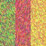 Geschakeerde textuurvector Stock Foto's