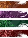 Gescheiden banners Royalty-vrije Stock Foto