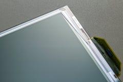 Gescheiden TN-Technologie kleurenlcd het schermdeel met polarisatorfilm royalty-vrije stock foto