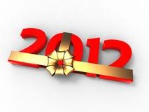 Geschenk 2012 Stockfotografie