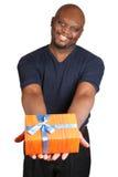 Geschenk. stockfotografie
