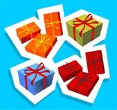 Geschenk Boxes Stockfotografie