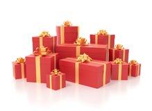 Geschenk Boxes Lizenzfreie Stockfotografie